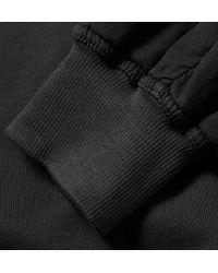 Haider Ackermann | Gray Panelled Cotton Sweatshirt for Men | Lyst