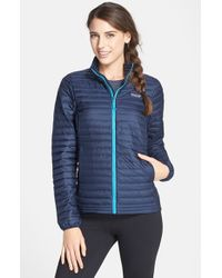 Patagonia - Blue Lightweight Down Jacket - Lyst