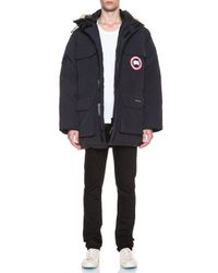 Canada Goose - Blue Expedition Polyblend Parka - Lyst