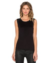 Generation Love - Black Jace Stud Top - Lyst