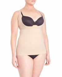Spanx - Natural Shape My Day Open-bust Plus-size Camisole - Lyst