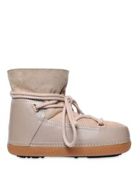 Ikkii - Natural Classic Low Suede & Leather Boots - Lyst