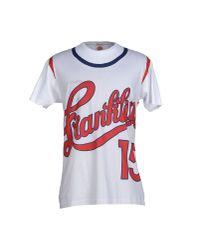 Franklin & Marshall - White T-shirt for Men - Lyst