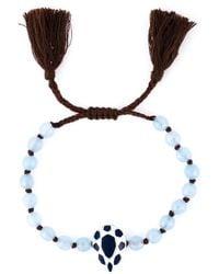 Ileana Makri | Blue 'Komploi' Enamel Bracelet | Lyst