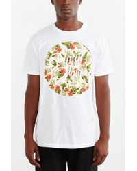Urban Outfitters | White Tropical Hang Loose Tee for Men | Lyst