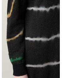 Raquel Allegra - Black Tie Dye Knit Dress - Lyst