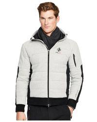 Polo Ralph Lauren | Metallic Rlx Full-zip Fleece Hoodie for Men | Lyst