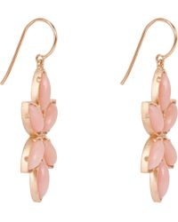 Irene Neuwirth - Pink Opal & Rose Gold Marquise Drop Earrings - Lyst