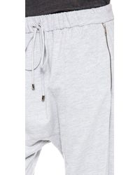 Robert Rodriguez - Gray Track Pants - Black - Lyst