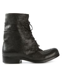 Dimissianos & Miller - Black Lace-up Boots - Lyst