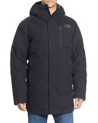 The North Face | Blue 'mount Elbert' Hooded Waterproof Parka for Men | Lyst