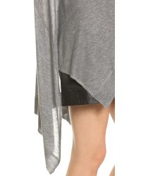 DKNY - Gray Pure Trapeze Pullover - Heather Grey - Lyst