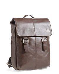 Knomo | Brown 'hudson' Backpack for Men | Lyst