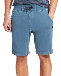 Madison Supply - Blue French Terry Sweat Shorts for Men - Lyst