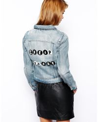 Cheap Monday | White Letter Badges | Lyst