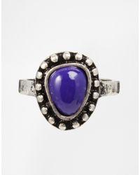 ASOS | Multicolor Stone Ring Multi Pack | Lyst