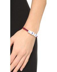 Venessa Arizaga - Red Mira Mikati Late Bracelet - Lyst