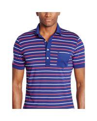 Ralph Lauren - Blue Slim-fit Polo Shirt for Men - Lyst