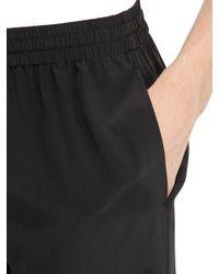 La Perla - Black Silk Pajama Pants - Lyst