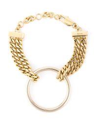 Chloé | Metallic 'carly' Bracelet | Lyst