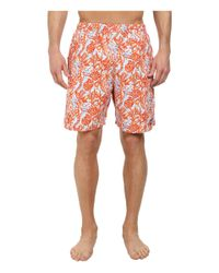 Vineyard Vines | Orange Seahorse Scene Chappy Trunk for Men | Lyst