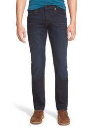 J Brand - Blue 'kane' Slim Straight Leg Jeans for Men - Lyst
