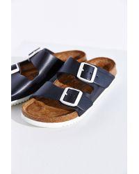 Birkenstock Black Arizona Super Grip Soft Footbed Sandal
