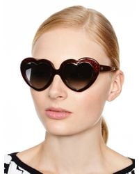 kate spade new york - Red Tayla Sunglasses - Lyst