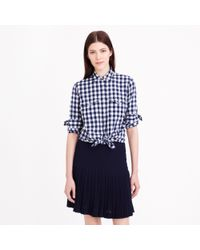 J.Crew - Multicolor Gingham Utility Shirt - Lyst