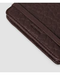 AllSaints - Brown Paradise Card Cover - Lyst