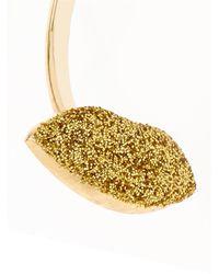 Delfina Delettrez | Yellow Enamel, Pearl & Gold Earring | Lyst