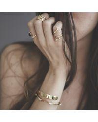 Bing Bang - Metallic Air Amulet Ring - Lyst