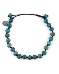 Joseph Brooks | Blue Stone Bead Bracelet for Men | Lyst