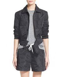 Tomas Maier | Black Parachute Jacket | Lyst