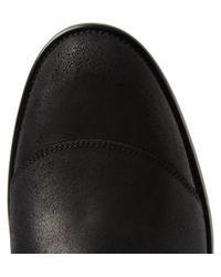 Belstaff - Black Trialmaster Oiledsuede Boots for Men - Lyst