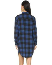 Cheap Monday Black Flannel Dress