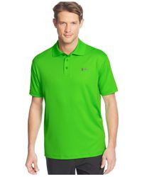 Under Armour | Green 2.0 Performance Golf Polo for Men | Lyst