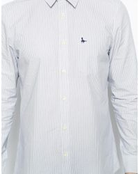 Jack Wills - Blue Salcombe Shirt with Stripe for Men - Lyst