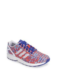 Adidas - White 'Zx Flux Weave' Sneaker for Men - Lyst