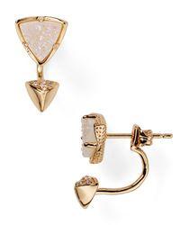 Kendra Scott | Pink Brindley Ear Jackets | Lyst