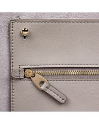 Smythson | Gray East West Zip Tote | Lyst