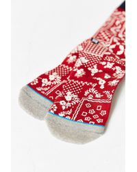 Stance - Red Arthur Sock - Lyst