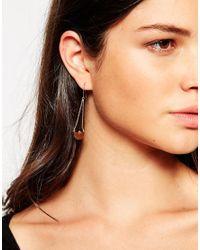 Gorjana | Metallic Luna Shimmer Drop Earrings | Lyst