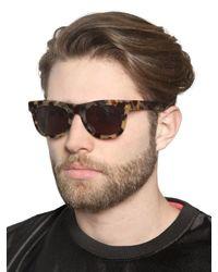 Retrosuperfuture - Brown Ciccio Acetate Tortoise Sunglasses for Men - Lyst