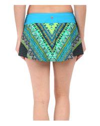 Prana Blue Sakti Swim Skirt