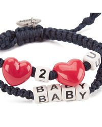 Venessa Arizaga - Metallic Women's Love 2 Love U Baby Bracelet - Lyst