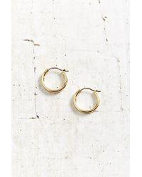 Urban Outfitters | Metallic Modern Hoop Earring | Lyst