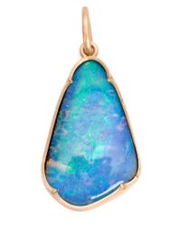 Irene Neuwirth | Blue 18kt Gold And Boulder Opal Pendant | Lyst