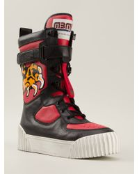 Marc By Marc Jacobs Black 'bmx Board Boots' Trainers
