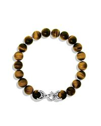 David Yurman - Metallic Spiritual Bead Bracelet, 10Mm for Men - Lyst